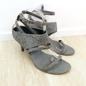 Alexander Wang Women's Heels Grey Wool Shoes 39